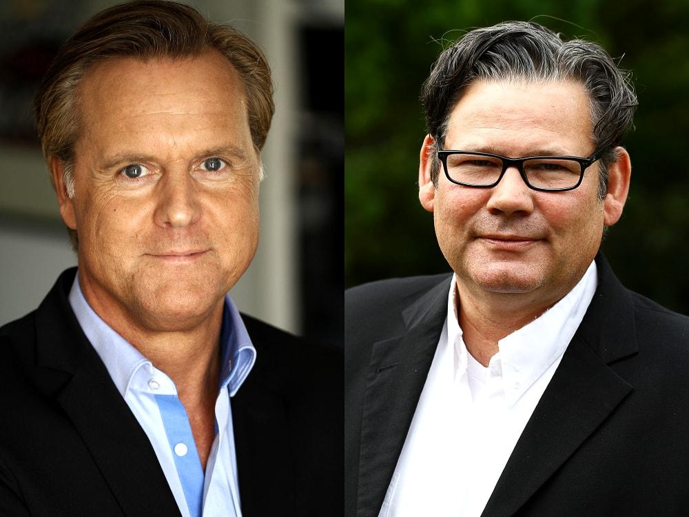 Andreas Stock und Torsten Pagel von der Debitor-Inkasso GmbH
